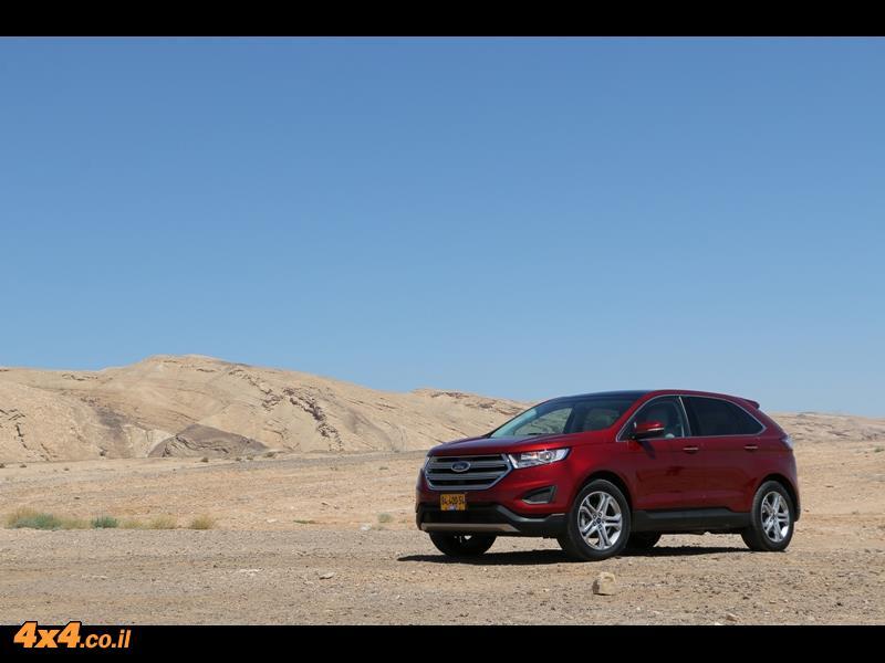מבחן דרכים - פורד אדג' Ford Edge