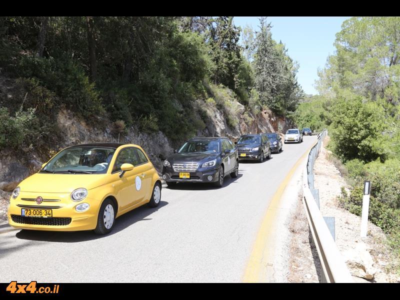 ההתחלה על הכביש הציבורי - הכרת כלי הרכב