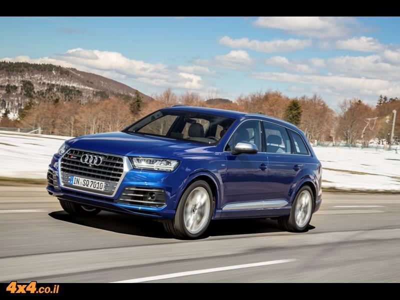 מבחן דרכים אאודי Audi SQ7