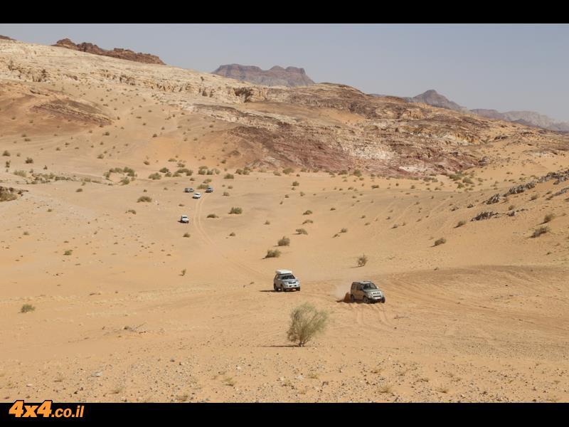 האתגר האחרון - הדיונה הראשונה והגבוהה של הערבה הירדנית