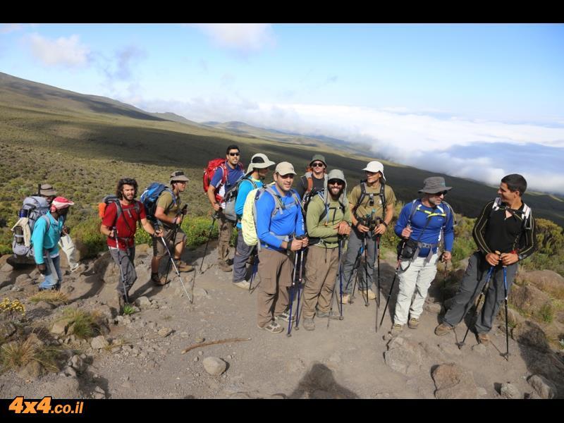 היום השני - מטפסים 1,000 מטרים לאורך 12 קילומטרים הליכה