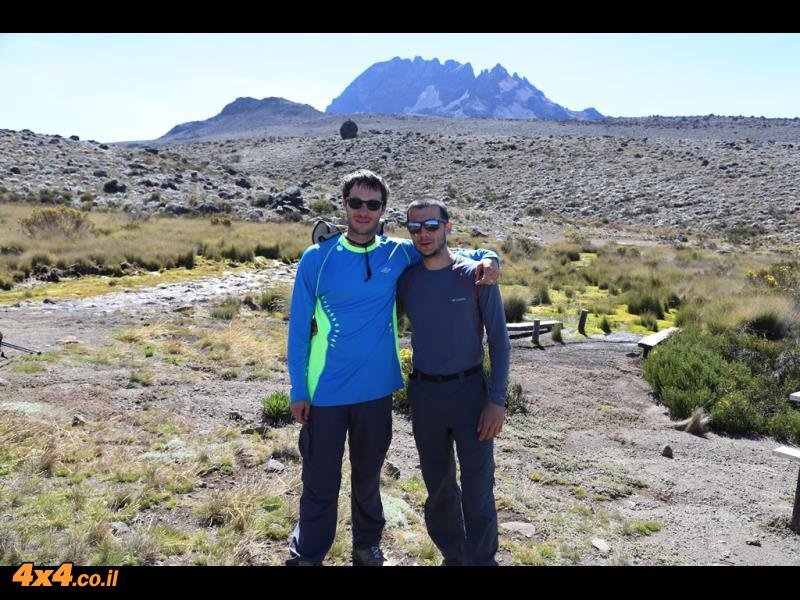 היום הרביעי - מטפסים עוד 1,000 מטרים לאורך 10 קילומטרים הליכה