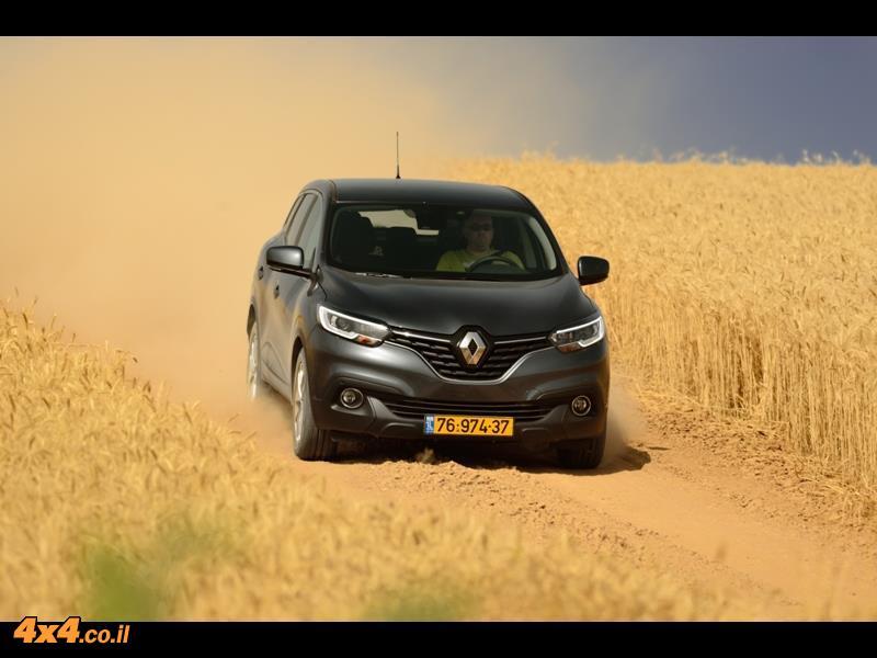 מבחן דרכים רנו קדג'אר Renault Kadjar, יולי 2016