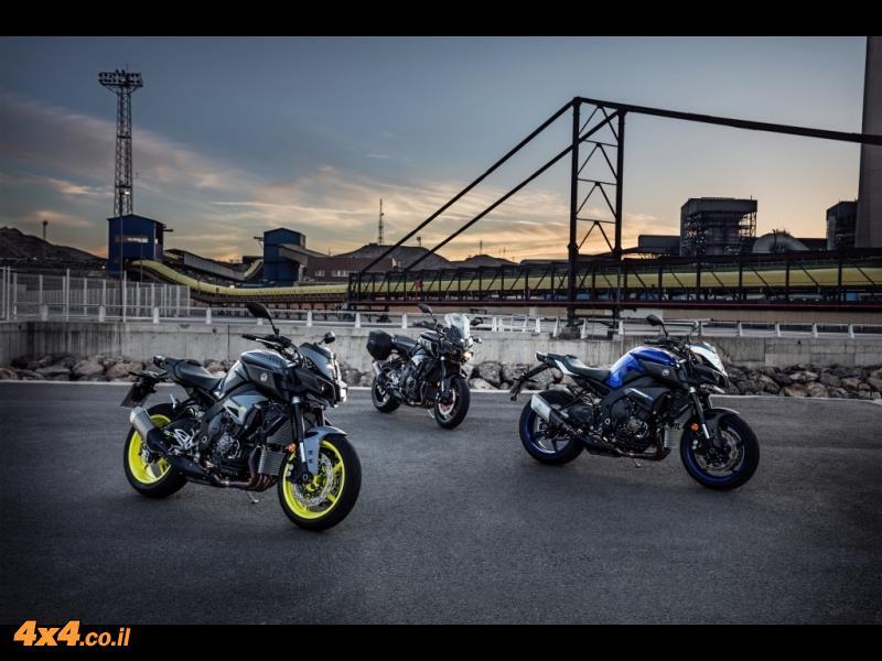 אופנוע בהשקה ימאהה Yamaha MT-10