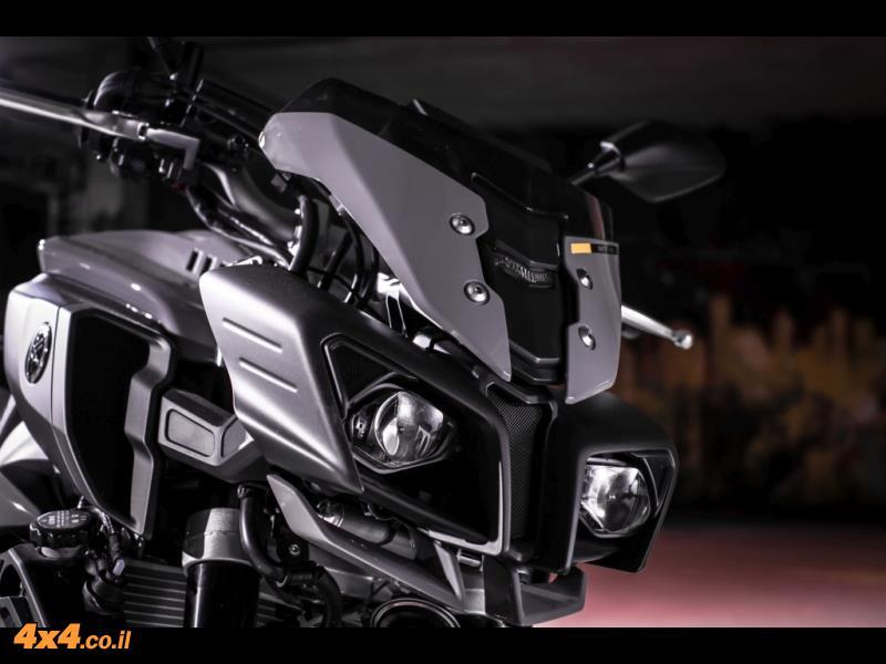 נתונים טכניים: אופנוע ימאהה Yamaha MT-10