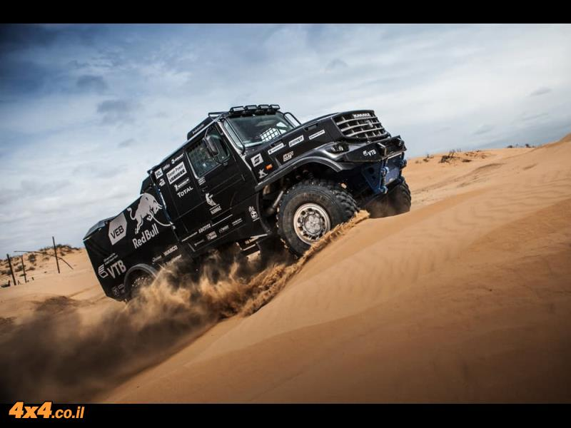 משאית מירוץ חדשה לקאמאז