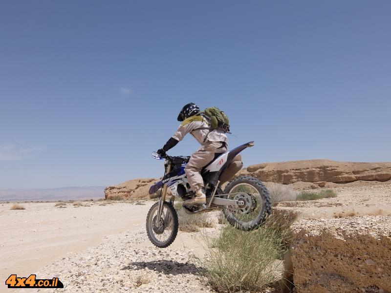 מבחן רכיבה אופנוע: ימאהה Yamaha WR250F