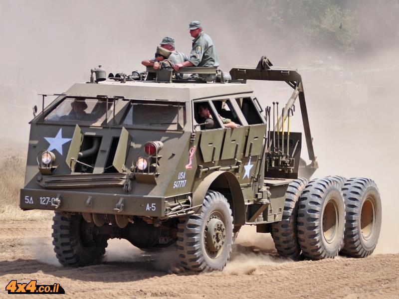 אגדת שטח – מוביל הטנקים M26 דרגון וואגון