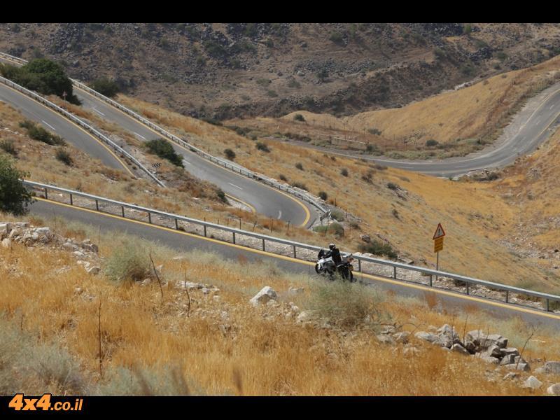 כמעט סטלביו בישראל (למרות שיש רק כ- 10% מכמות הפיתולים שבצפון איטליה)