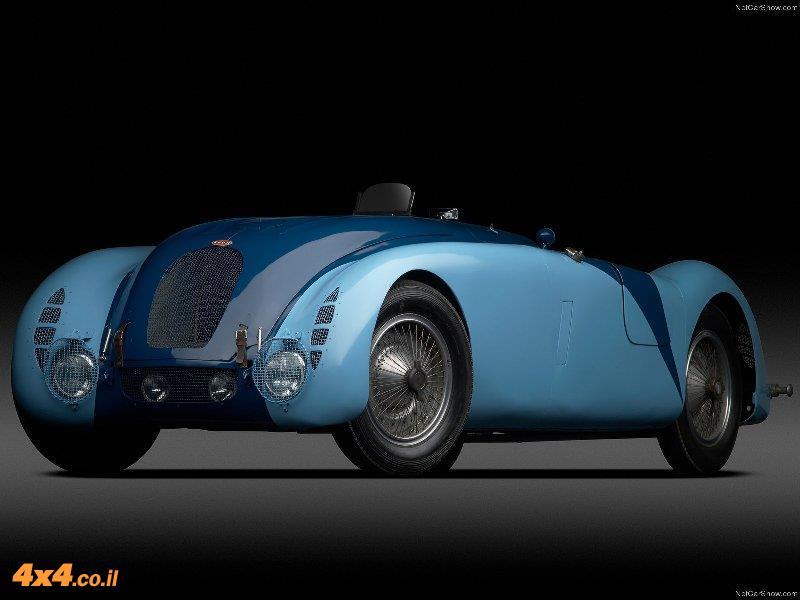 מכונית על, שנות השלושים - בוגאטי 57G טאנק, 1937. נציגה אחת מתוך שני תריסר של יצירות מופת בשנות ה-30