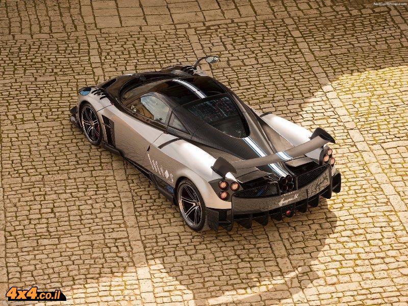 מכונית קצה! פגאני הויארה, הצעה איטלקית עכשווית למשהו למתי-מעט. העיצוב בקצה הסטרטוספרה