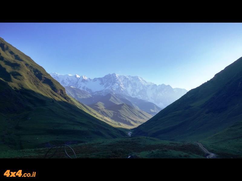 הר שחארה באור ראשון של בוקר