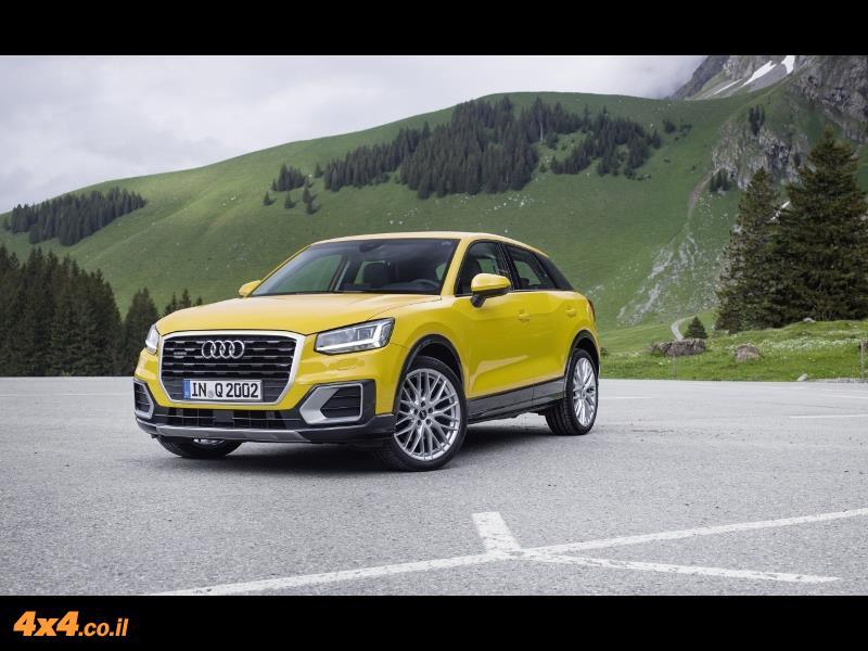 מבחן דרכים אודי Audi Q2