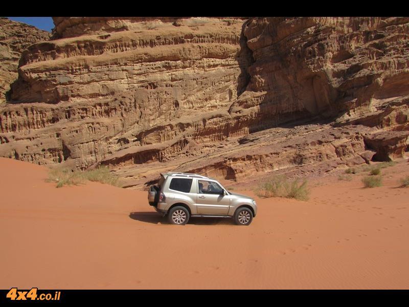 מסע ג'יפים לממלכת ירדן - סוכות 2016
