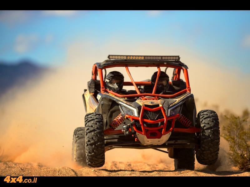 חזק יותר, מהר יותר, יקר יותר - מאווריק  X3 TURBO
