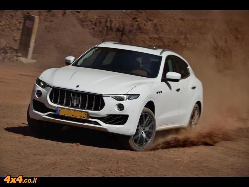 מבחן דרכים מזראטי לבנטה Maserati Levante