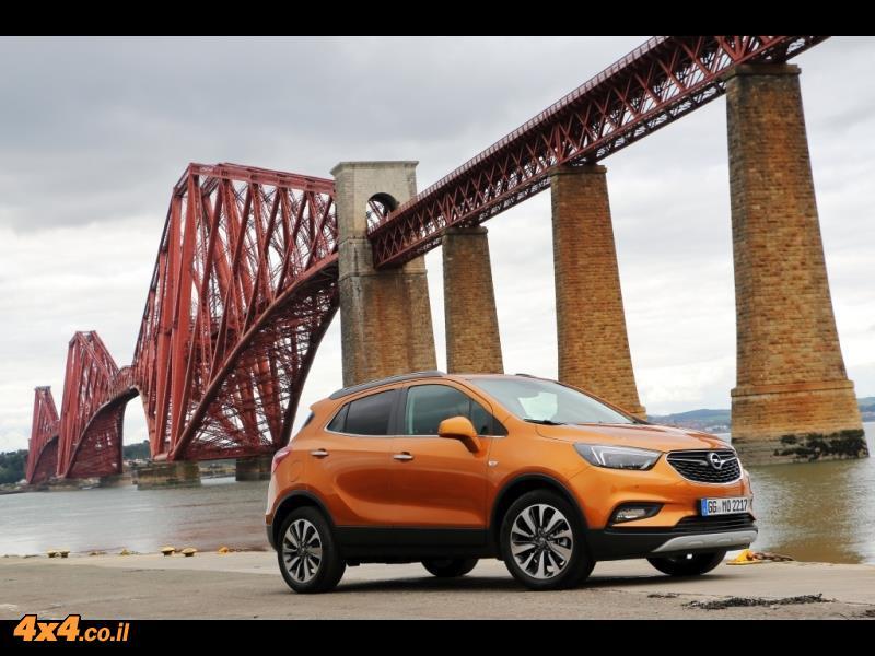 מבחן דרכים אופל מוקה Opel Mokka
