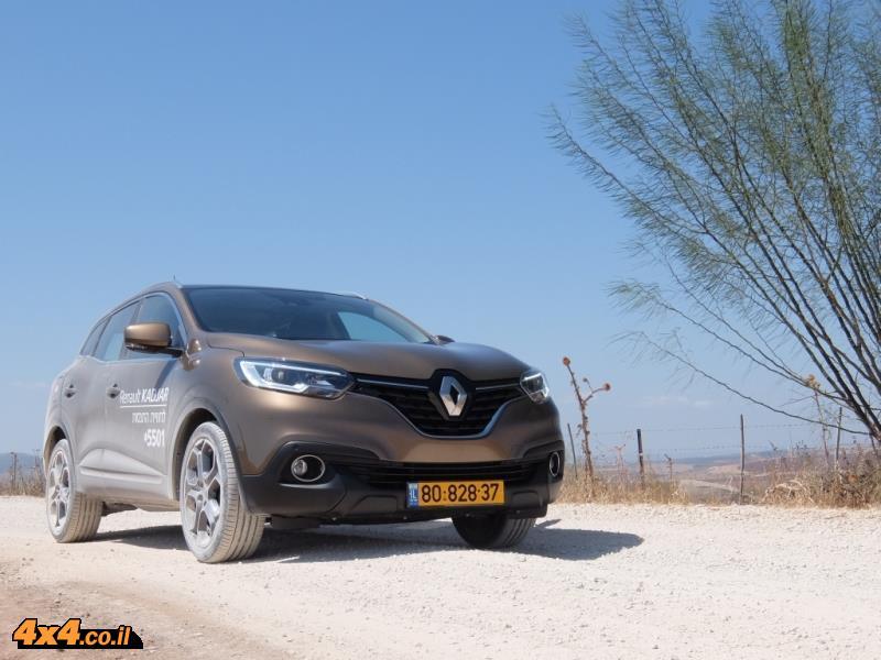 מבחן דרכים רנו קדג'אר Renault Kadjar, נובמבר 2016