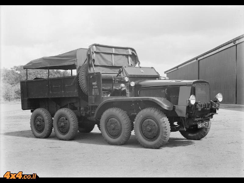 אגדת שטח: משאית ה-8X8 הראשונה בעולם