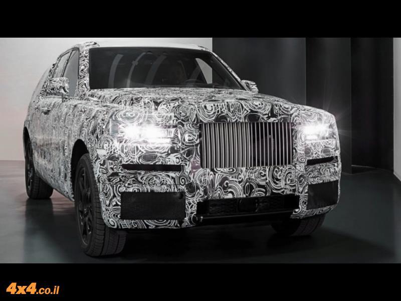 הכי יוקרה שאפשר: SUV  מתוצרת רולס רויס