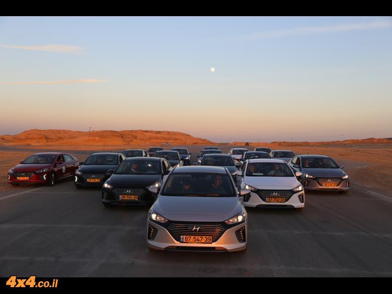 יונדאי איוניק בהשקה Hyundai IONIQ