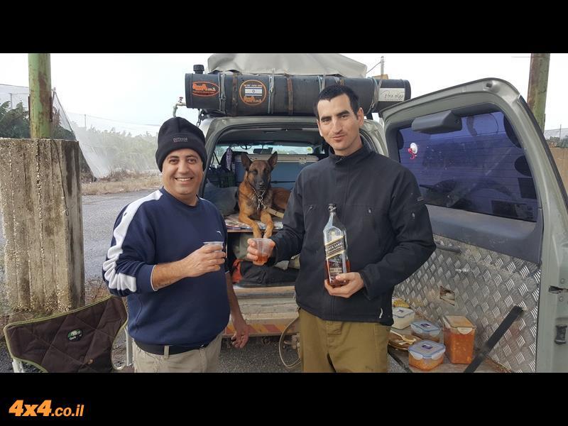 יומן מסע חוצה ישראל עם ג'יפונים - חנוכה 2016