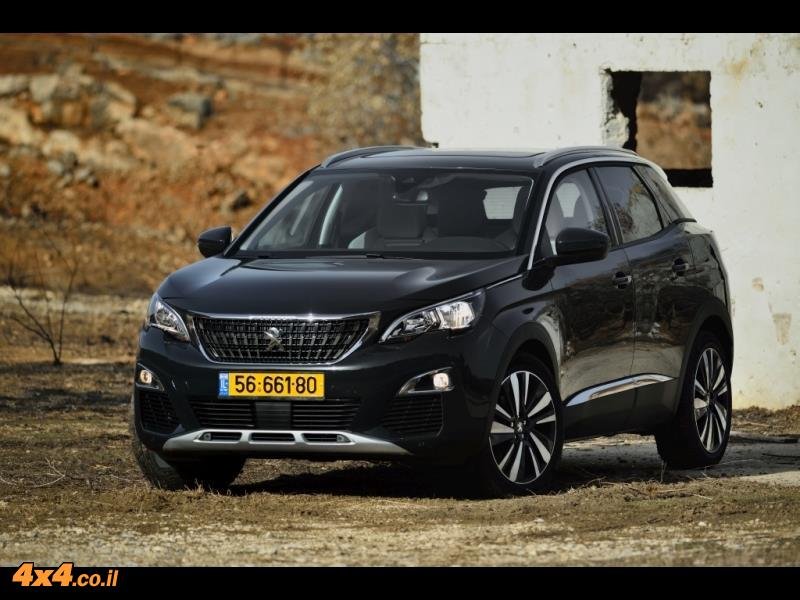 מבחן דרכים: פיג'ו Peugeot 3008