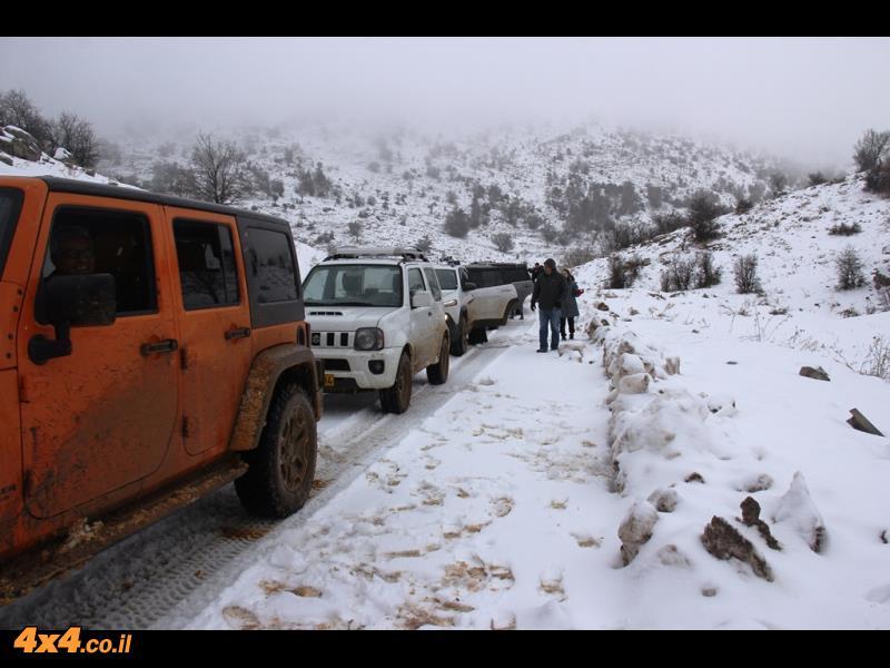 טיול שלג בצפון רמת הגולן 31.12.2016