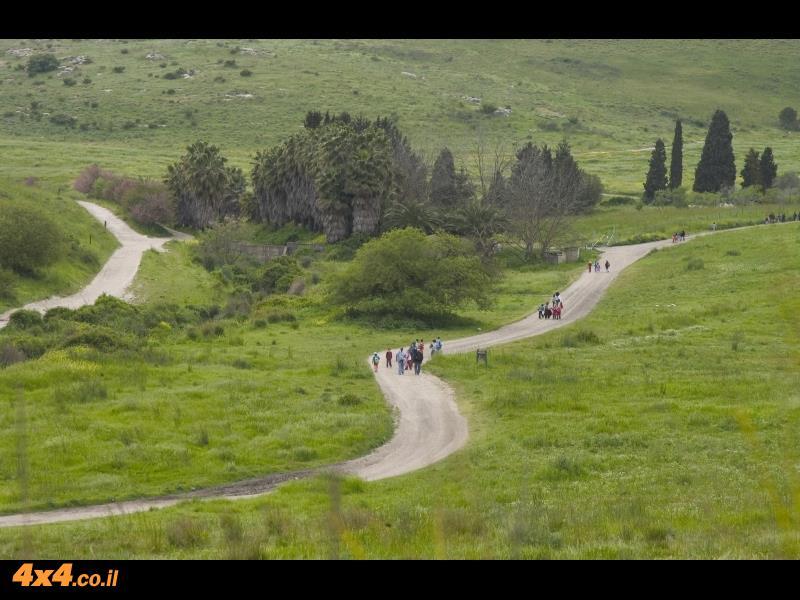 נקודה בשטח- עמק השלום ברמות מנשה