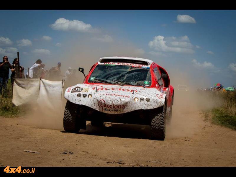 בשולי דקאר 2017: מכונית כל-חשמלית הגיעה לראשונה לקו הגמר