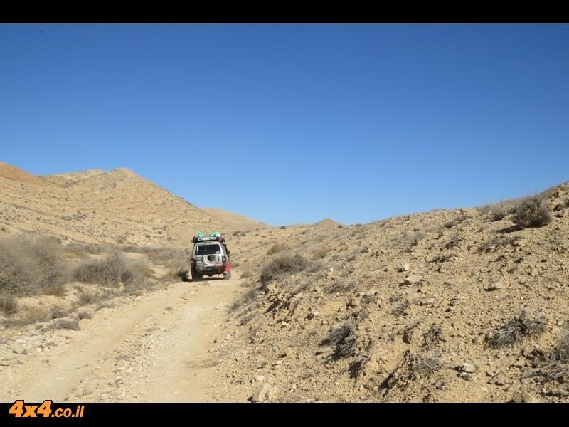 סיור מיוחד בעומק המדבר