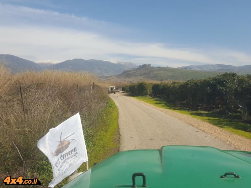 מסע ג'יפים לזכר הנופלים באסון המסוקים