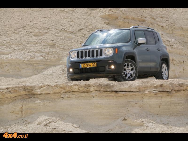 בשם האח - ג'יפ רנגייד Jeep Renegade