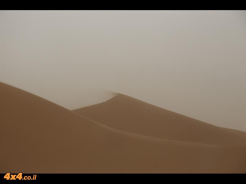 רוח המדבר לא הצליחה לשבור את רוח החבורה
