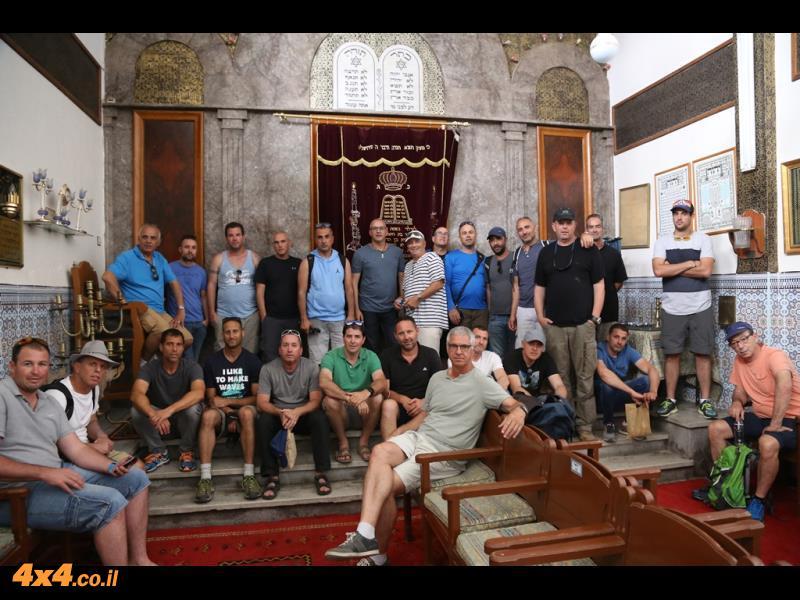 סאלת לעזמה - בית הכנסת העתיק של מרקש משנת 1,492