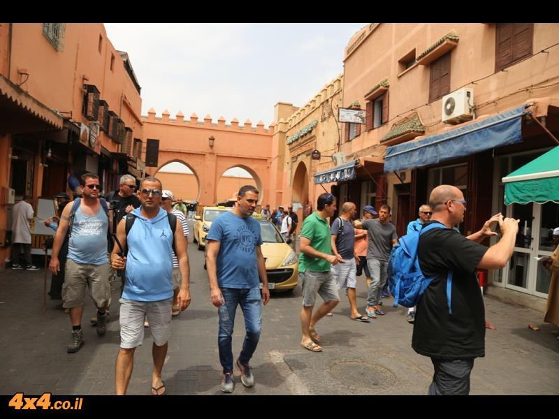 מרקש - המסגד, ארמון המלך, העיר העתיקה, המלאח וגמע אל פנא