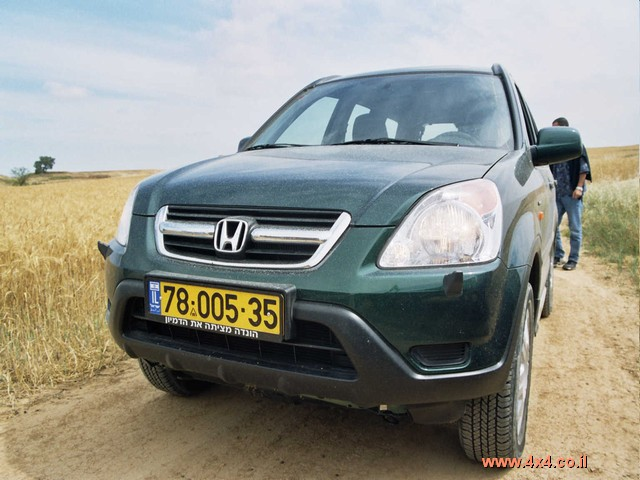 הונדה CR-V במבחן דרכים