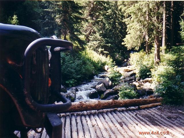 ועוד גשר עץ
