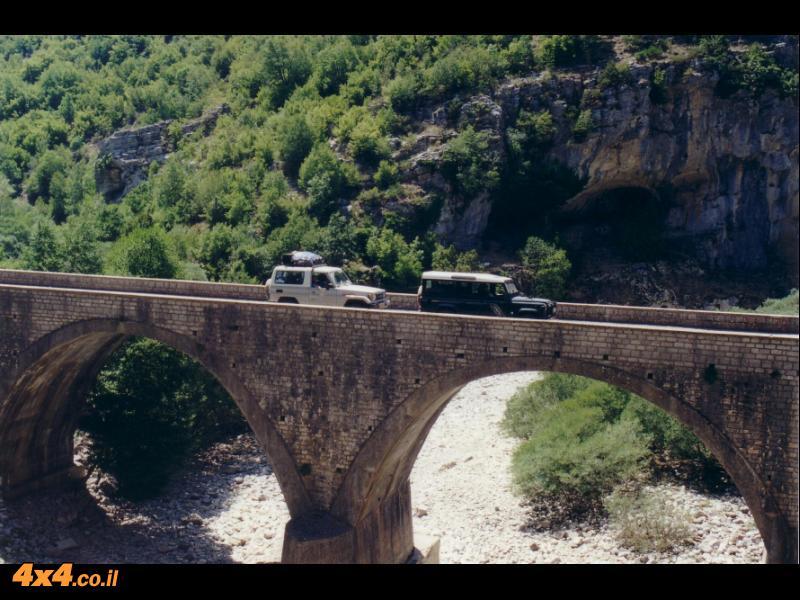הגשרים בדרך לקיפי