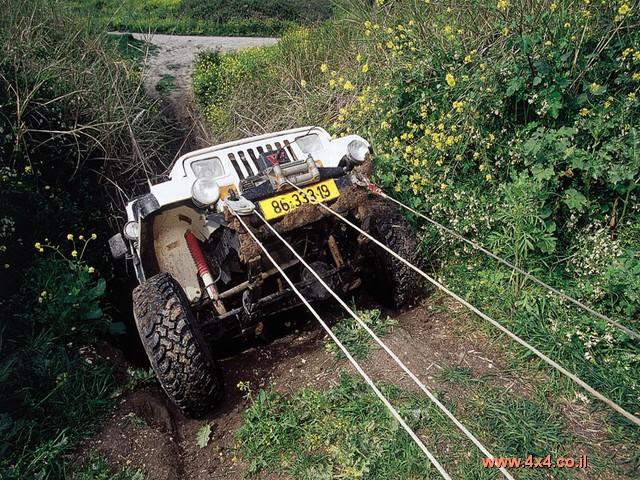 חילוץ כללי (רכב בודד, מפעיל/נהג בודד)