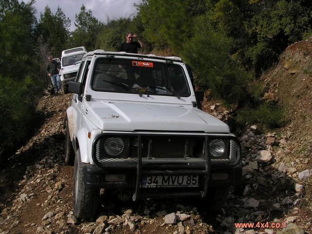 מסע ג'יפים בטורקיה - פברואר 2004