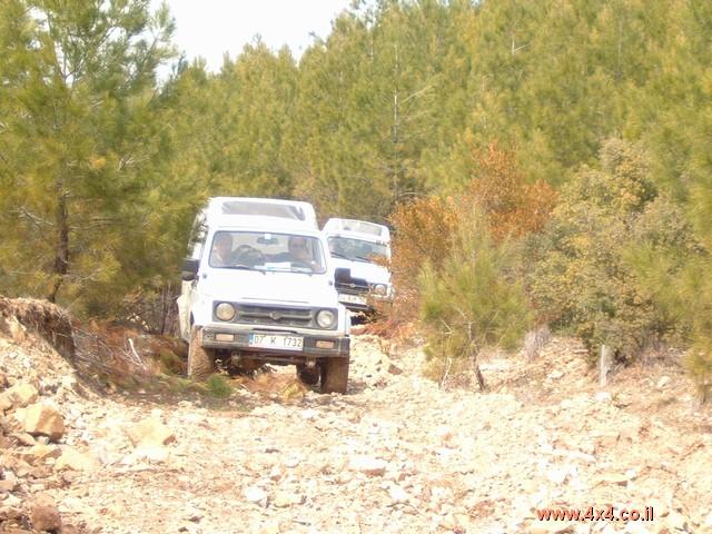 תמונות ממסע ג'יפים  בטורקיה - פברואר 2004