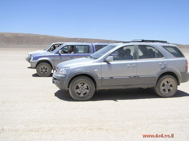תמונות מהמסע משדה בוקר לאילת מאי שבועות 2004