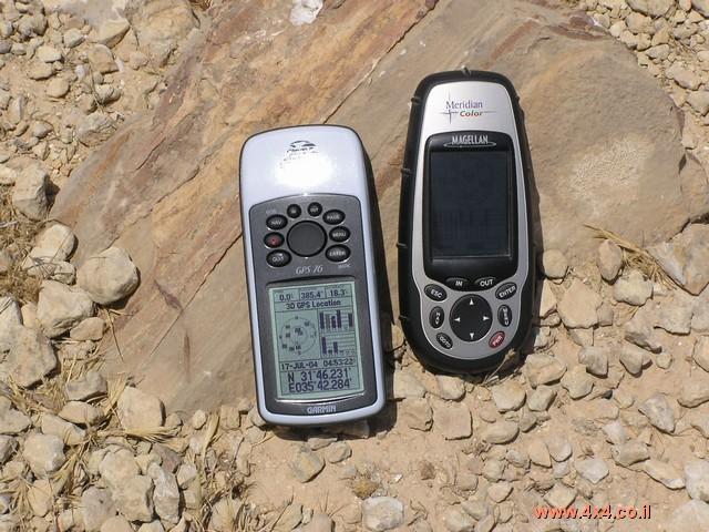 כתבת ניווט מספר 8 - הפעלת מכשיר ה-GPS