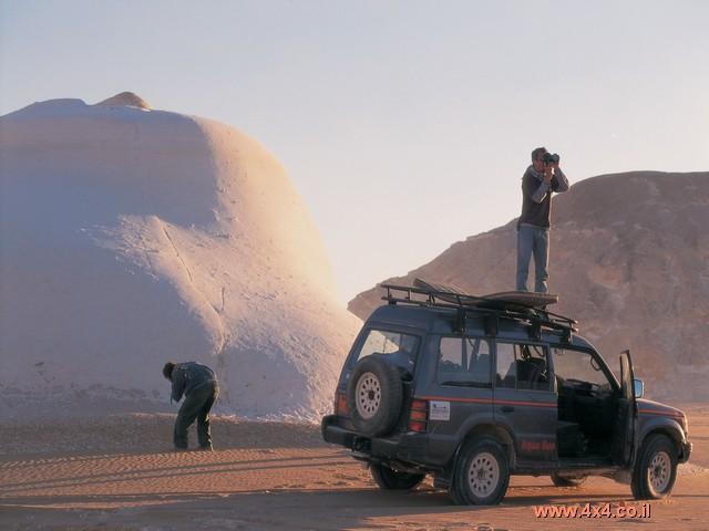 ימים לבנים במדבר הלבן - המדבר המערבי - מצריים