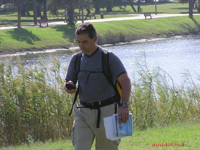 תמונות מקורס הפעלת GPS אוקטובר 2004