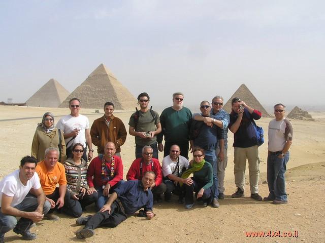 תמונות מהמסע המיוחד - מדבר המערבי -  23 ינואר 2005