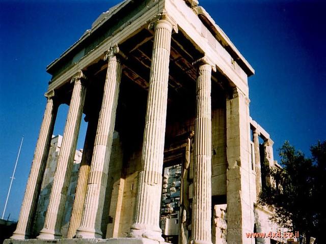 אתונה מאוד מיוחדת, מלאה אתרים היסטוריים מרשימים