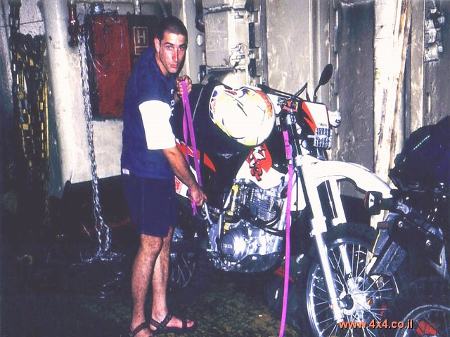 ההכנות למסע היו קצרות וכללו: הכנת האופנועים, הציוד ורכישת כרטיסי מעבורת לרודוס