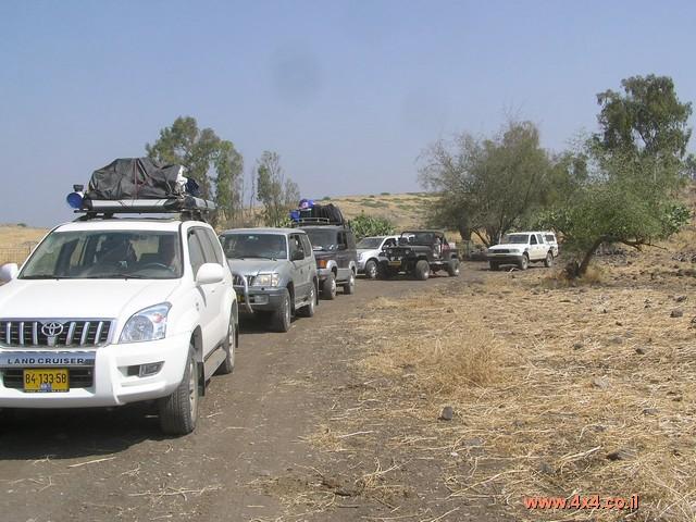 יומן מסע - חוצה ישראל - יולי 2005